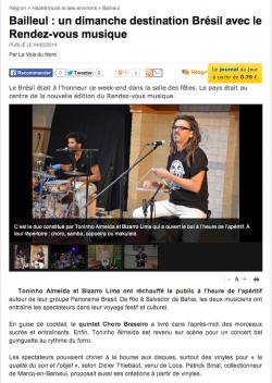 La Voix du Nord, Février 2014