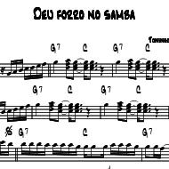 deu forro no samba